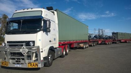 Volvo, first load, Wubin