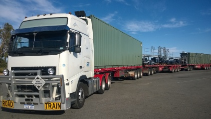 Volvo, first load, Wubin